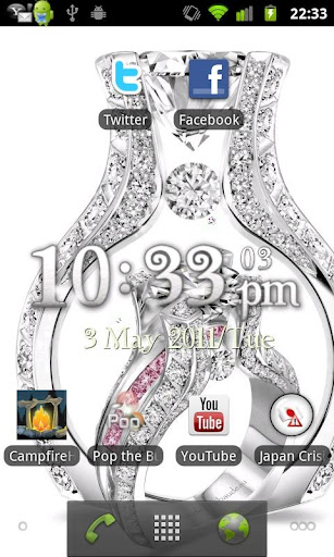 Diamond Luxury Live Wallpaper