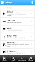 Screenshot of Navigator.ba