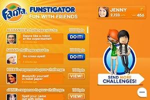 Screenshot of Fanta Funstigator