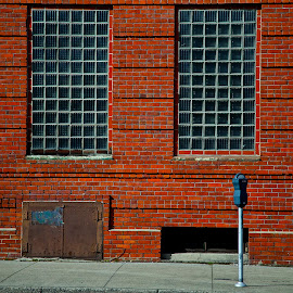 Spokane by Daniel Waterbly - City,  Street & Park  Street Scenes ( washington, spokane, brick, flour mill, riverfront park )