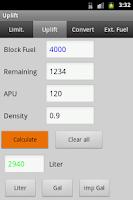 Screenshot of Aviation Uplift/Fueling
