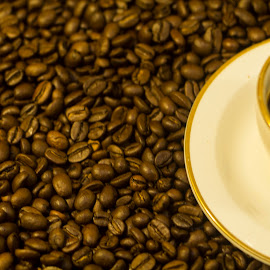 coffee by Mark Brown - Food & Drink Alcohol & Drinks ( beverage, coffee beans, drink, coffee, coffee cup,  )