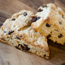 Sour Cream Chocolate Chip Scones
