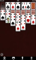 Screenshot of Solitaire