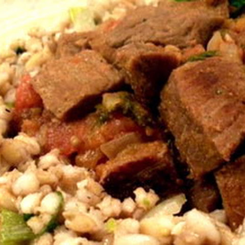 Minted Lamb With Couscous