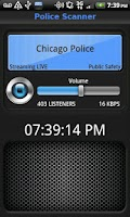 Screenshot of Police Scanner FREE