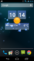 Screenshot of Live Weather