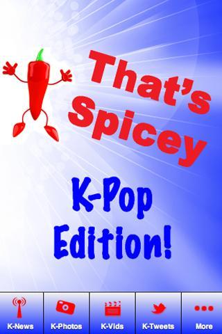 That's Spicy K-pop Edition