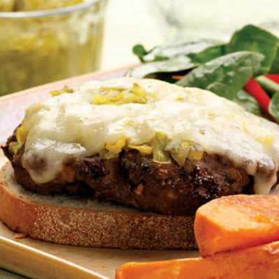 Portobello and Beef Patty Melt
