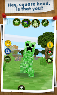 Talking Green Square - screenshot