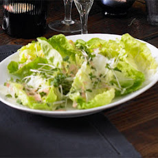 Baby Gem lettuce with Marie Rose dressing