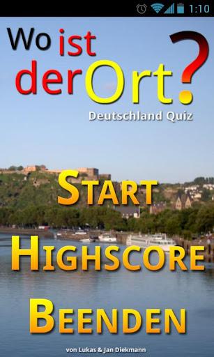 Wo ist der Ort Dtld-Quiz