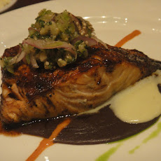 Honey Ginger Grilled Salmon, Swordfish or Mahi Mahi