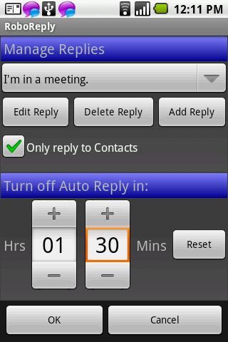 Robo Reply Widget