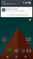 Screenshot of Wallpaper Saver