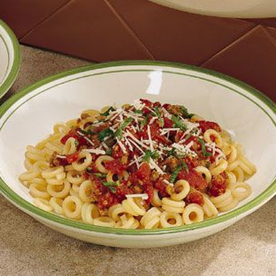 Anelletti with Winter Tomato Sauce