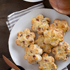 Bacon, Gruyere & Green Onion Scones