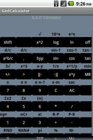 G.E.D Calculator