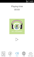 Screenshot of Get Pregnant! Hypnosis