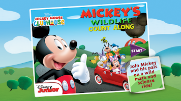 Screenshot of Mickey's Wildlife Count Along