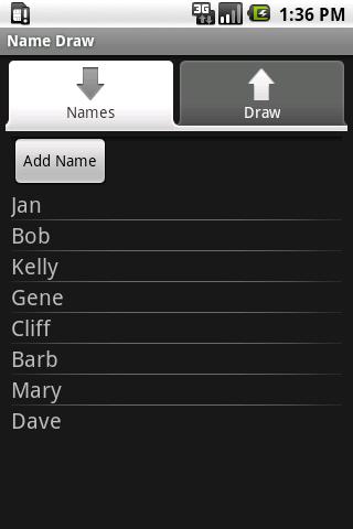 Name Draw