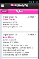 Screenshot of Pink Radio