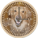 Dog 4 Retriever Analog Clock icon