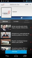 Screenshot of Caracol Radio para Android