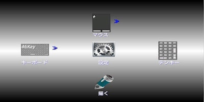 Screenshot of Air HID: WiFi Mouse & KeyBoard