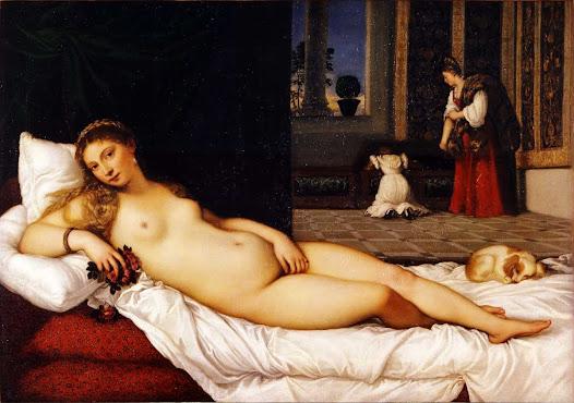 Tiziano, Venere d'Urbino