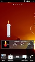 Screenshot of Candle battery widget