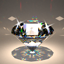 Spin. Diamond Wallpaper FullHD