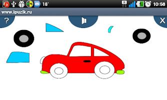 Screenshot of Игры для детей. Айпузик 6 в 1.