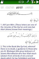 Screenshot of Al Quran (Al-Zikar Pro)