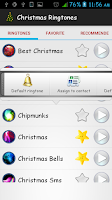 Screenshot of Popular Christmas Ringtones