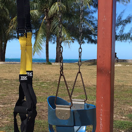 TRX suspension training  by Jeremy Sawyer - Sports & Fitness Fitness ( beach, baby, bahamas, trx )
