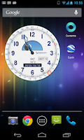 Screenshot of Clockwise Timepiece (+Widget)