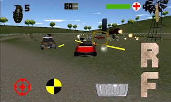 Screenshot of Heavy Metal Derby 3D Demoliton