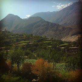 Hunza Valley In Autumn by Aay Bee - Instagram & Mobile Android