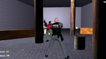 Screenshot of Army shooting Training
