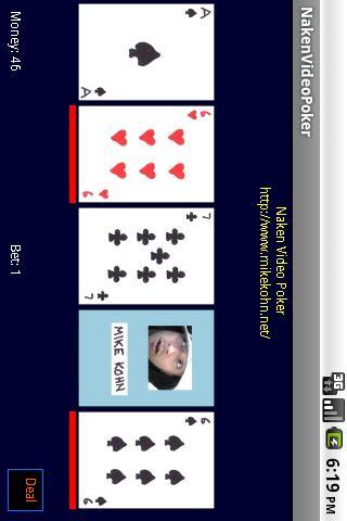Naken Video Poker