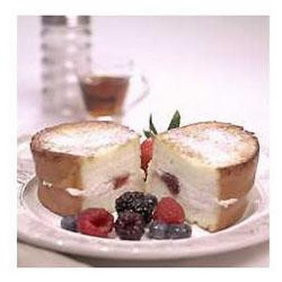 Stuffed French Toast With Fresh Berry Topping