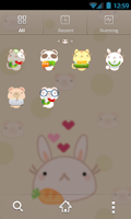 Screenshot of Cute Animals GO Launcher Theme