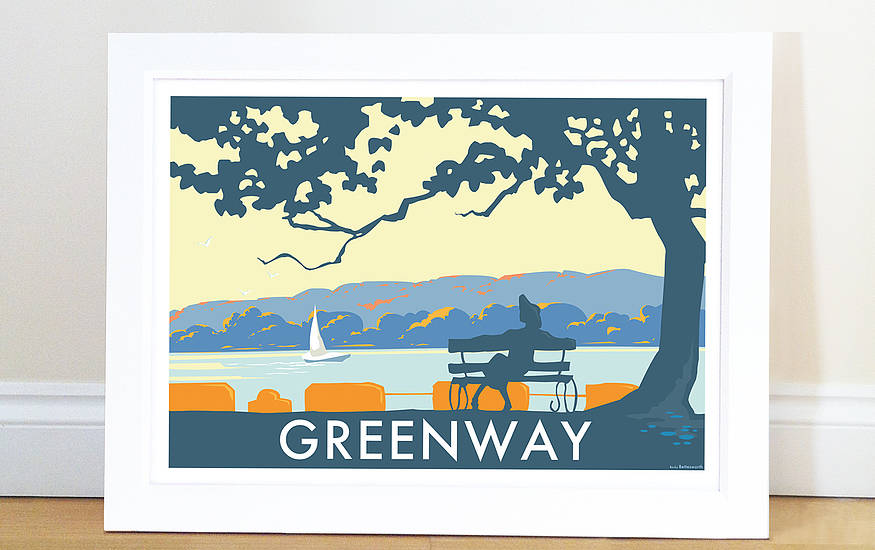 Becky Bettesworth Seaside Print