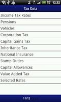 Screenshot of Tax Apps UK