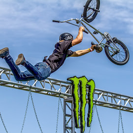 Monster Energy by Josh Rud - Sports & Fitness Cycling ( bmx )