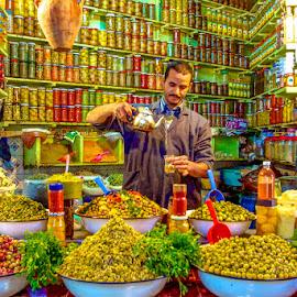 Olives in Marrakesh by Sverre Sebjørnsen - Food & Drink Fruits & Vegetables ( #sveoseb )