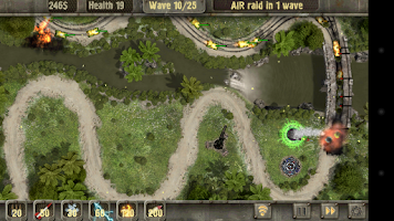 Screenshot of Defense zone HD