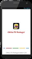 Screenshot of OHVui TV Portugal