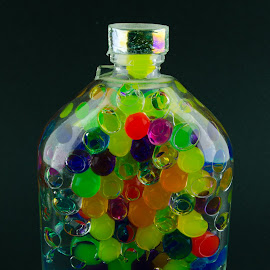 Decor Bottle by Luca Arșinel - Artistic Objects Glass (  )